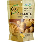 Go Naturally, Organic Hard Candies, Ginger, 3.5 oz (100 g) - 2pcs