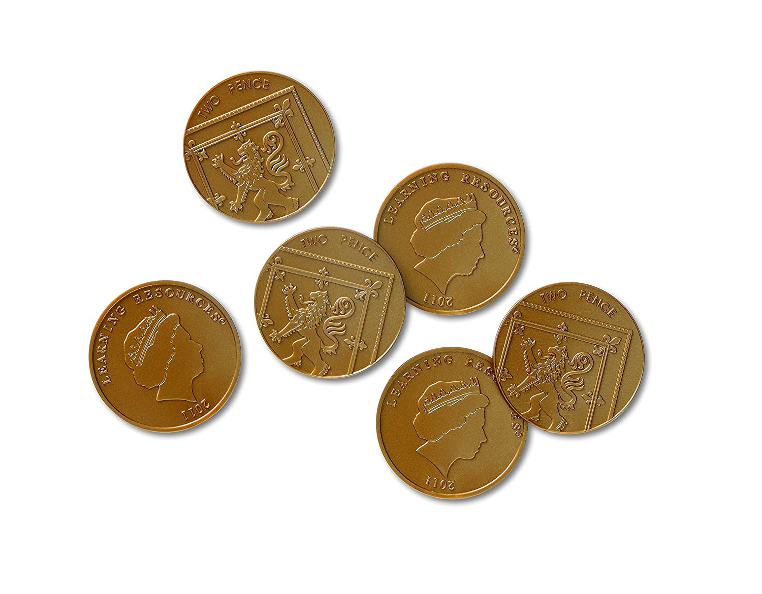 Two Pence Coins Set of 100
