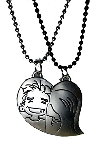 valentine boy with on magnetic p chain lockets two love off girl