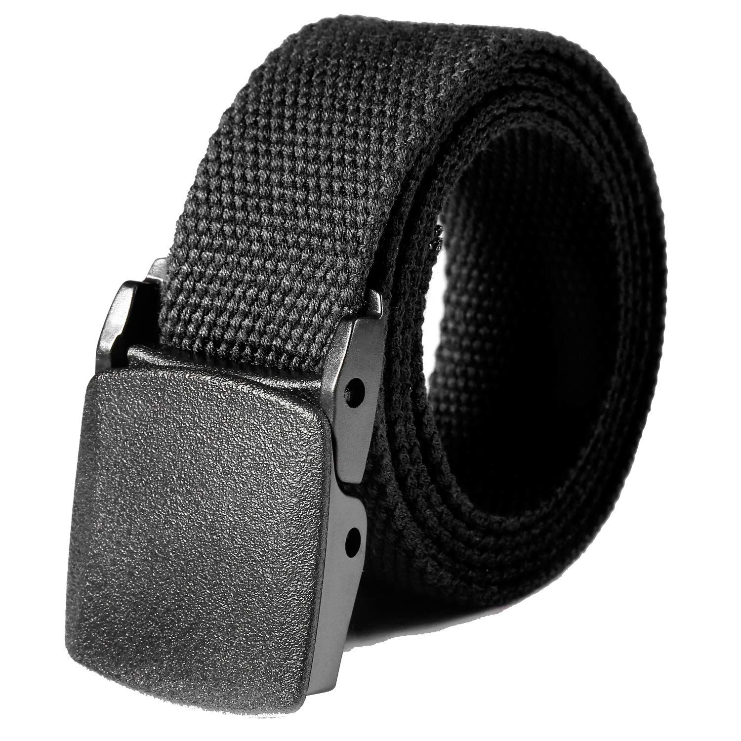 dozenla Breathable Military Tactical Adjustable Survival Solid Nylon Outdoor Waist Belt