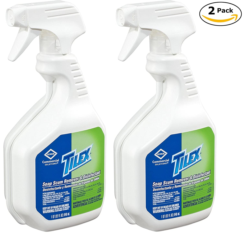 Tilex Soap Scum Remover & Disinfectant, Spray, 32 Ounces (35604) Clorox Professional Products Company CLO 35604