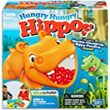 Hungry Hungry Hippos Classic - Elefun & Friends - Marble Chomping, Hippo Feeding - 2 to 4 Players - Kids Toys Ages 4+