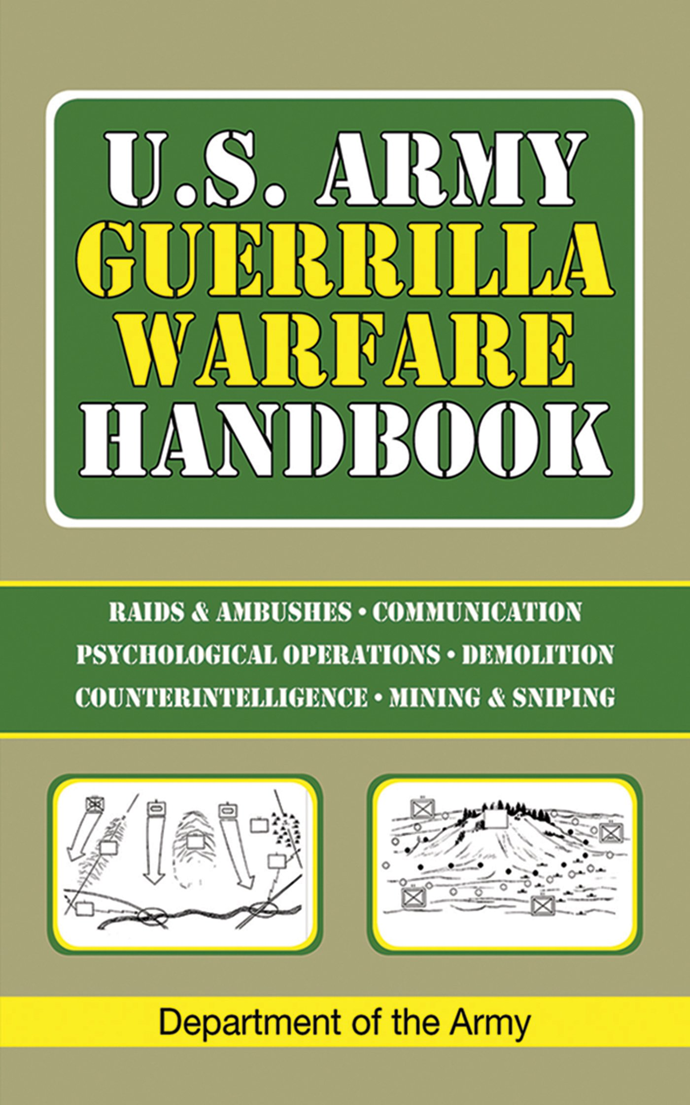U S Army Guerrilla Warfare Handbook product image