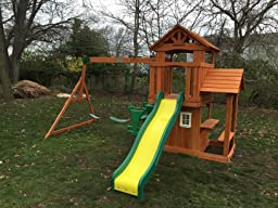 Amazon.com: Backyard Discovery Tanglewood All Cedar Wood ...