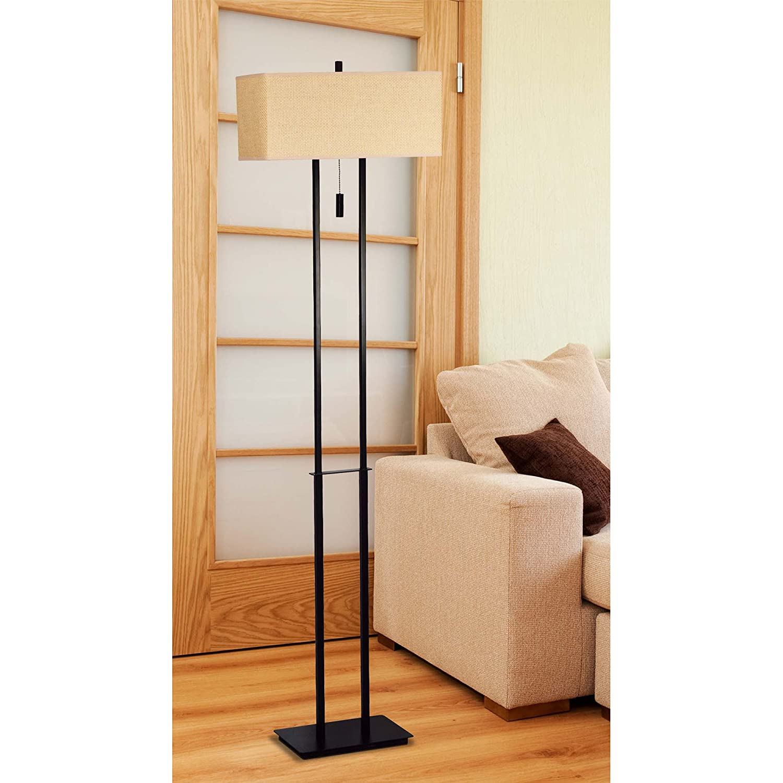 Amazon white floor lamps lamps shades tools - Kenroy Home 30817brz Emilio Floor Lamp Bronze Contemporary Floor Lamp Amazon Com