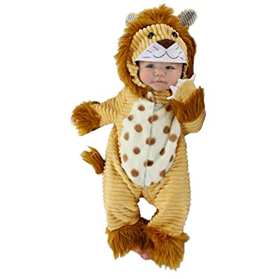 Princess Paradise Baby Safari Lion Deluxe Costume: Clothing