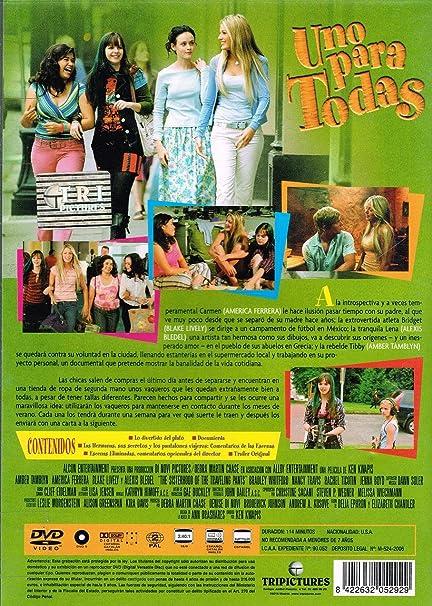 UNO PARA TODAS DVD: Amazon.es: AMBER TAMBLYN-AMERICA FERRERA-BLAKE LIVELY, KEN KWAPIS: Cine y Series TV