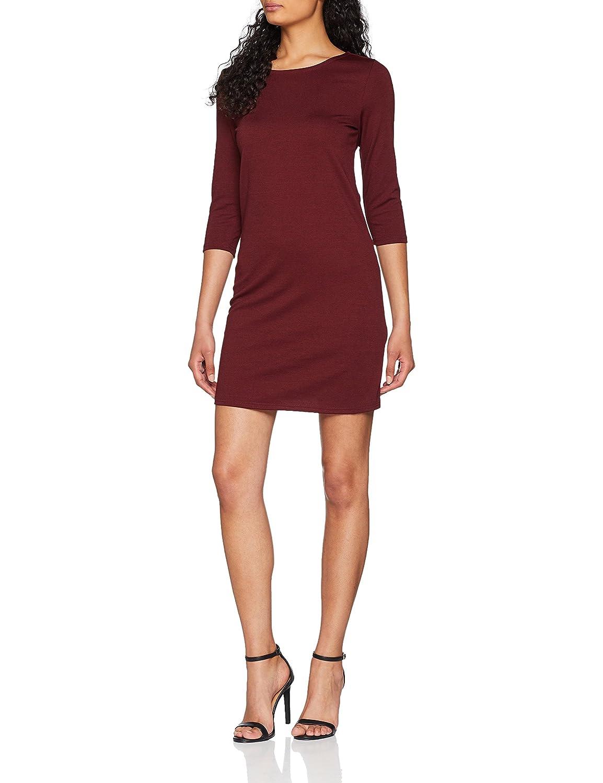 TALLA 40 (Talla del Fabricante: Medium). Only Vestido para Mujer Rojo (Chocolate Truffle) 40 (Talla del fabricante: Medium)