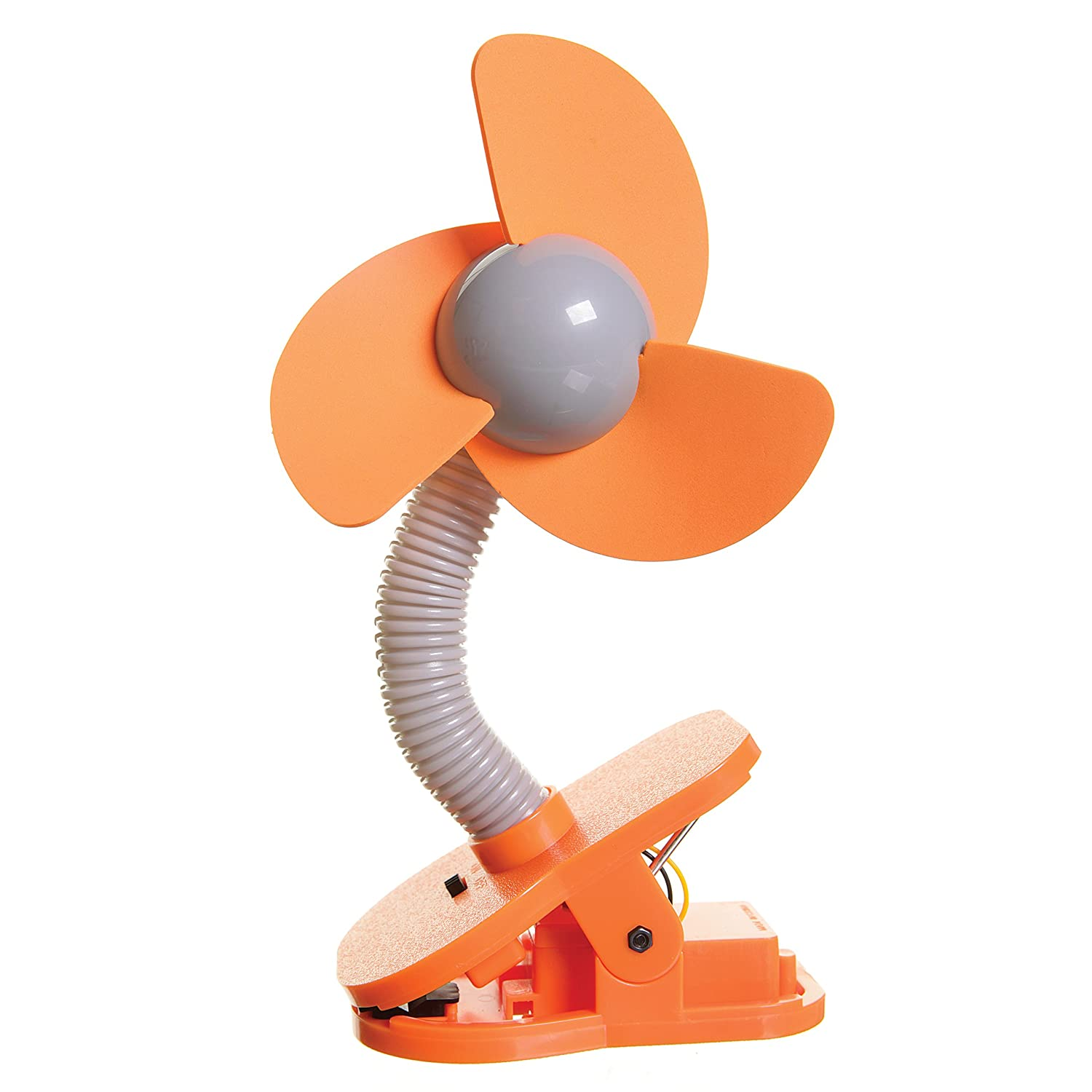 Dreambaby Stroller Fan - Orange/Silver T03