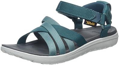 Teva Damen W Sanborn Sandal Sport, Grün (Deep Teal), 37 EU
