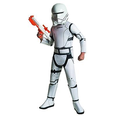 Star Wars: The Force Awakens Child's Super Deluxe Flametrooper Costume, Medium: Toys & Games