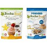 Bocha Sweet Baker's Bundle - 2 LB Granular & 16 OZ Powdered, 2 Pack