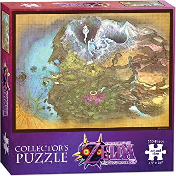 The Legend of Zelda Majoras Mask Termina Map Collectors Puzzle: USAopoly: Amazon.es: Juguetes y juegos