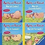 Ravensburger Mini-Bilderspaß 63 - Neue Geschichten von Piggeldy und Frederick (4er-Set)