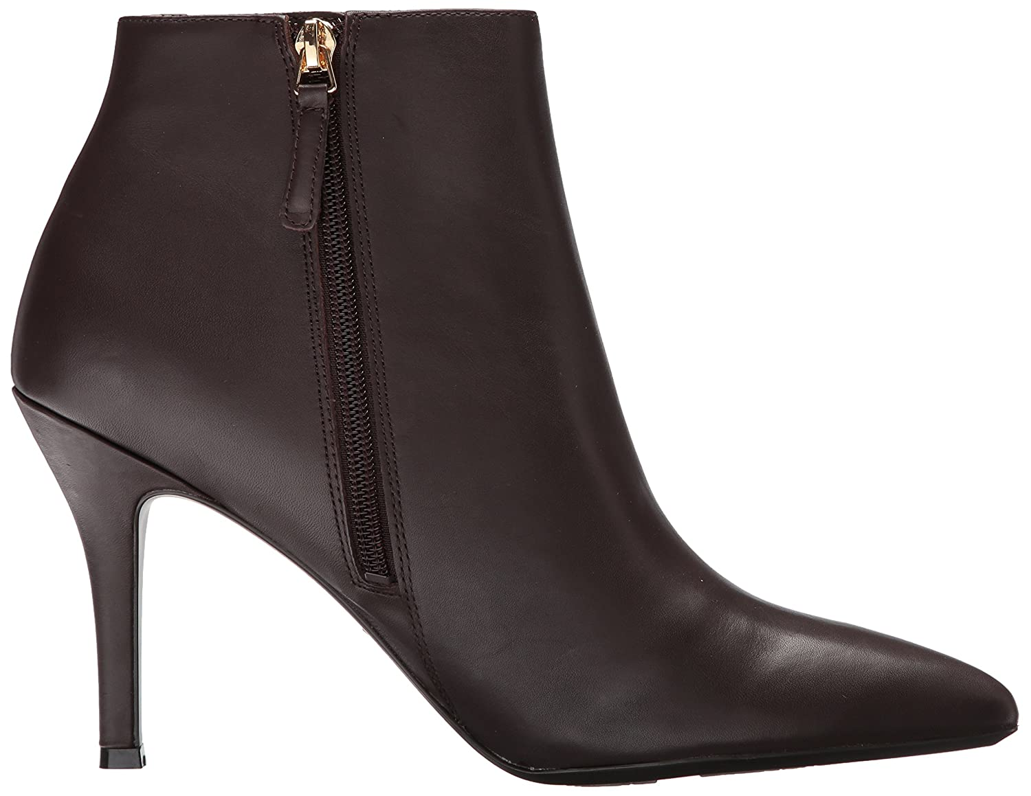 Nine West Women's Front9x9 B0711MBWXG 10 B(M) US|Dark Brown/Dark Brown Leather