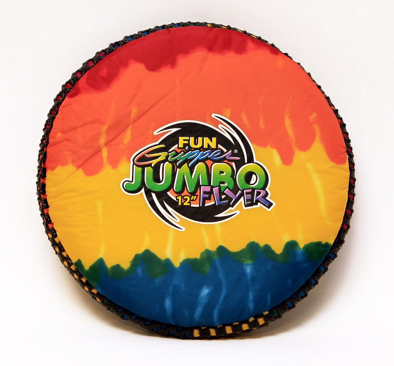 Great for Kids P.E Fun Gripper TD Tie Dye 12 Flyer//Frisbee Supplier Soft