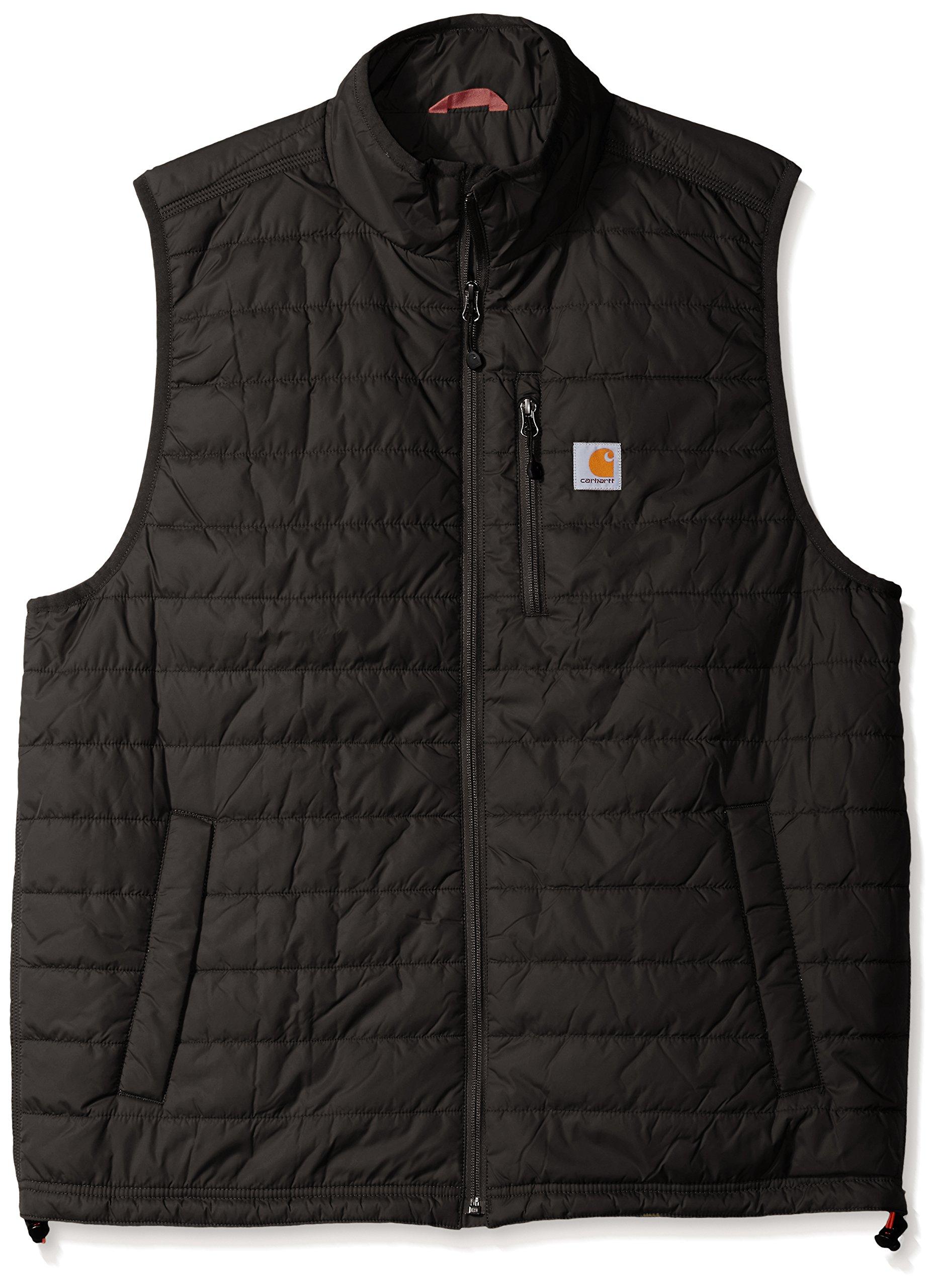 Carhartt Men's Big & Tall Gilliam Vest, Black, 3X-Large by Carhartt
