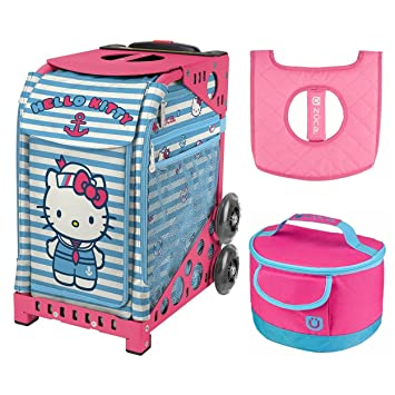 e815dda1a867 Image Unavailable. Image not available for. Color  ZUCA Hello Kitty Sail  with Me Bag
