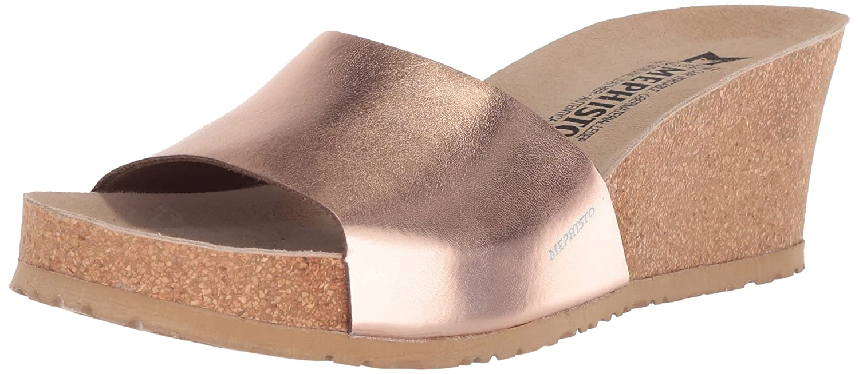 Mephisto Women's Lise Slide Sandal B073ZKB89F 12 B(M) US|Old Pink