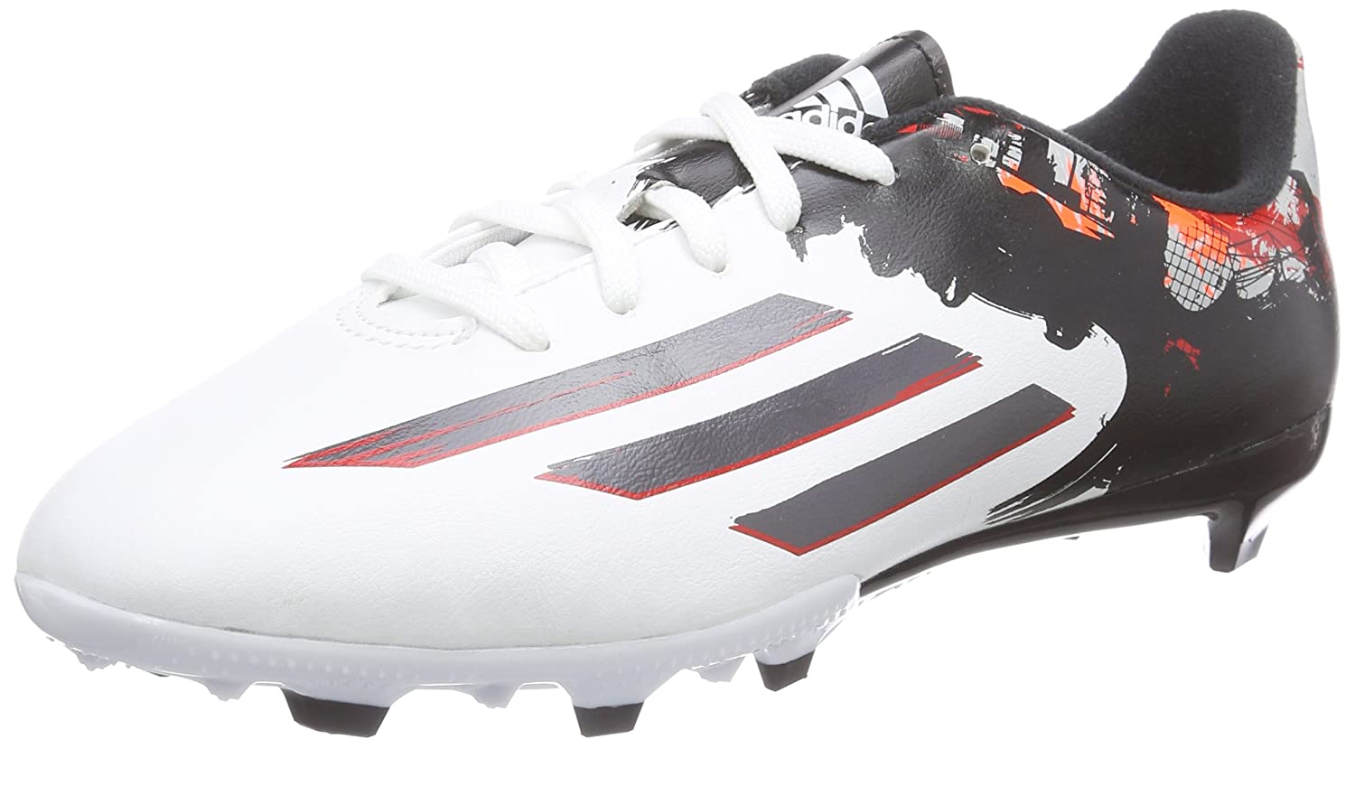 287144996294 adidas Boys' Messi 10.3 FG Football Boots, Weiß (FTWR White/Granite/Scarlet),  12.5k: Amazon.co.uk: Shoes & Bags