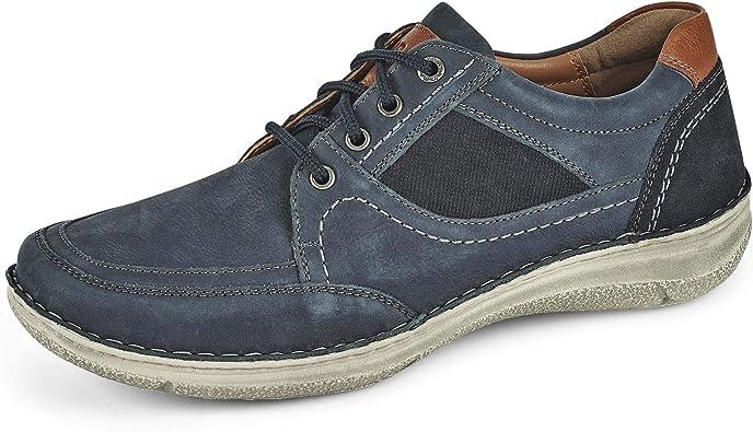 Chaussures Confortables Josef Seibel Homme Chaussures de Ville Anvers 47