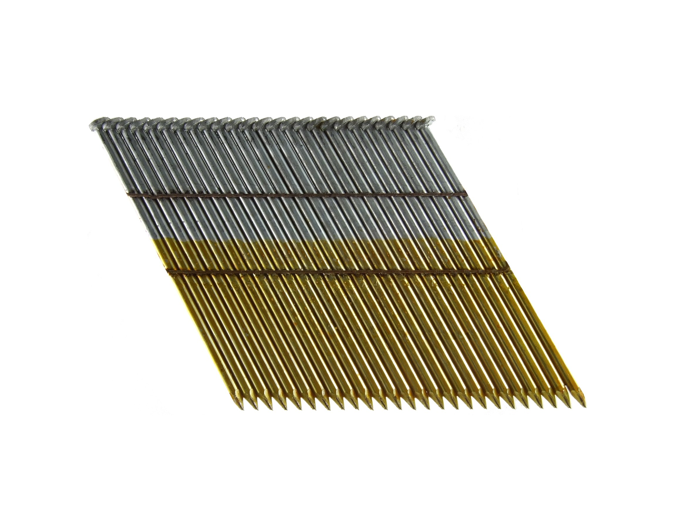 B&C Eagle 312X131HD/28 Offset Round Head 3-1/2-Inch x .131 x 28 Degree Hot Dip Galvanized Smooth Shank Wire Collated Framing Nails (2,000 per box)