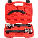 Shankly Spring Compressor Tool (2 Pieces) - Heavy Duty Build, Ultra Rugged Coil Spring Compressor, Strong and Durable…