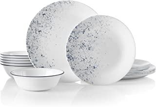 product image for Corelle 18-Piece Service for 6, Chip Resistant, Indigo Speckle Dinnerware Set