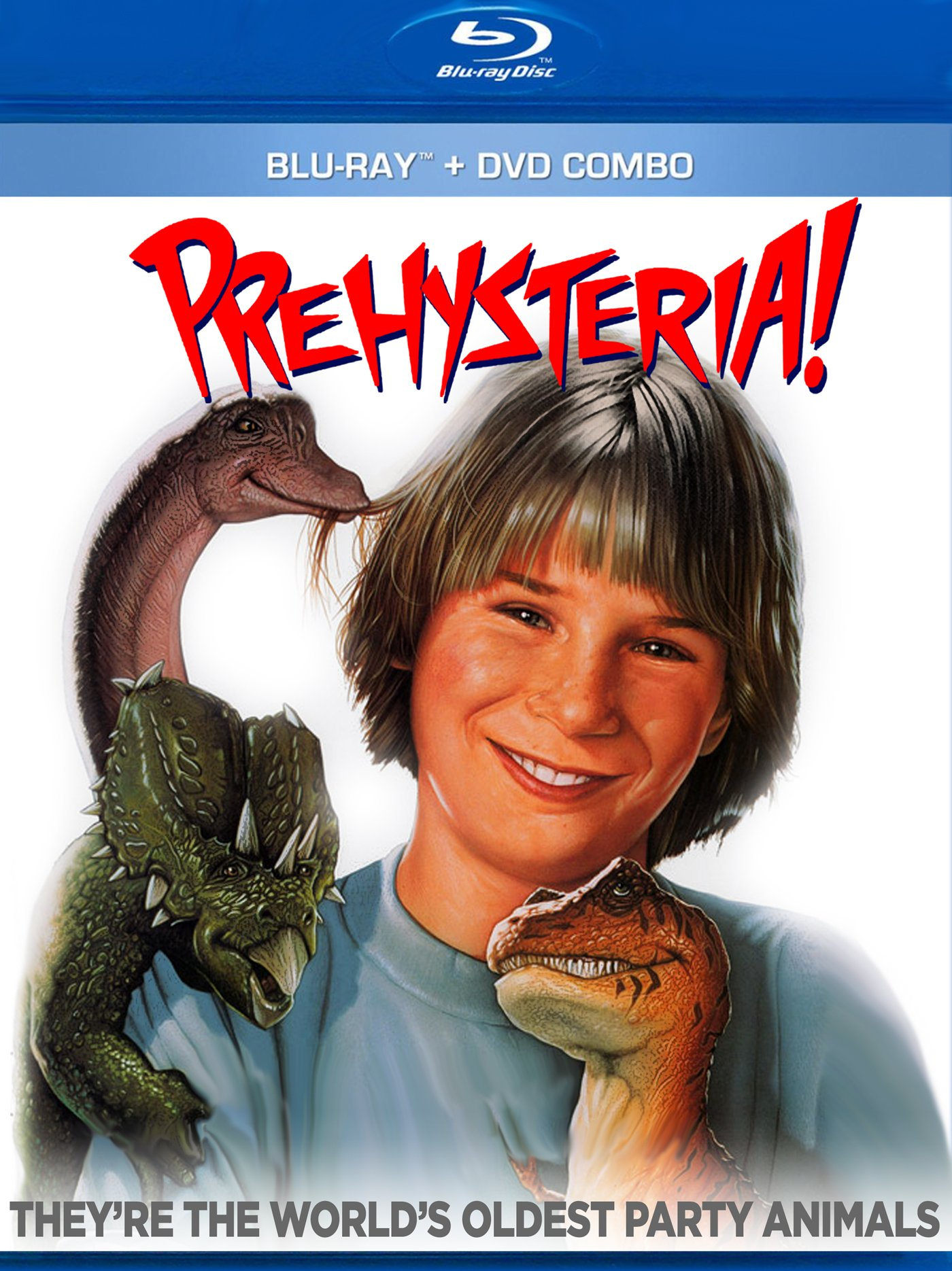 Blu-ray : Prehysteria (With DVD, Special Edition)