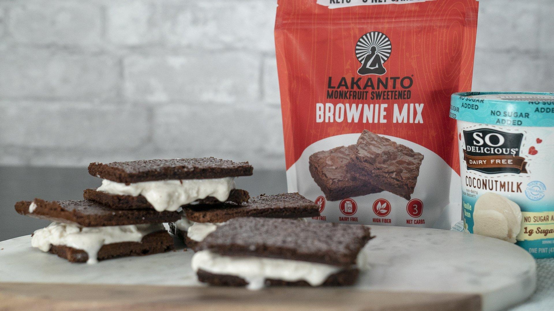 Lakanto Sugar-Free Brownie Mix | 3 net carbs | (Gluten-Free, 16 Servings) by Lakanto (Image #4)