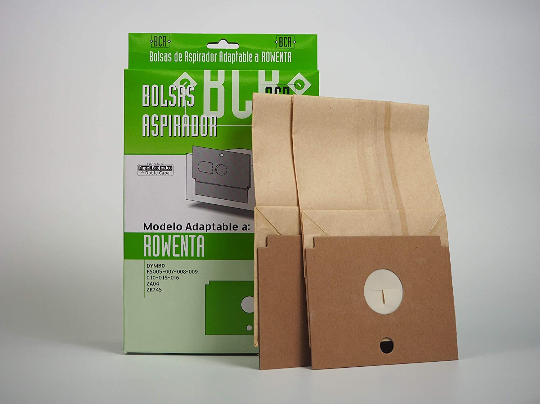 Amazon.com: Sanfor DyMBO R-RO12 ROWENTA Vacuum Cleaner Bag ...