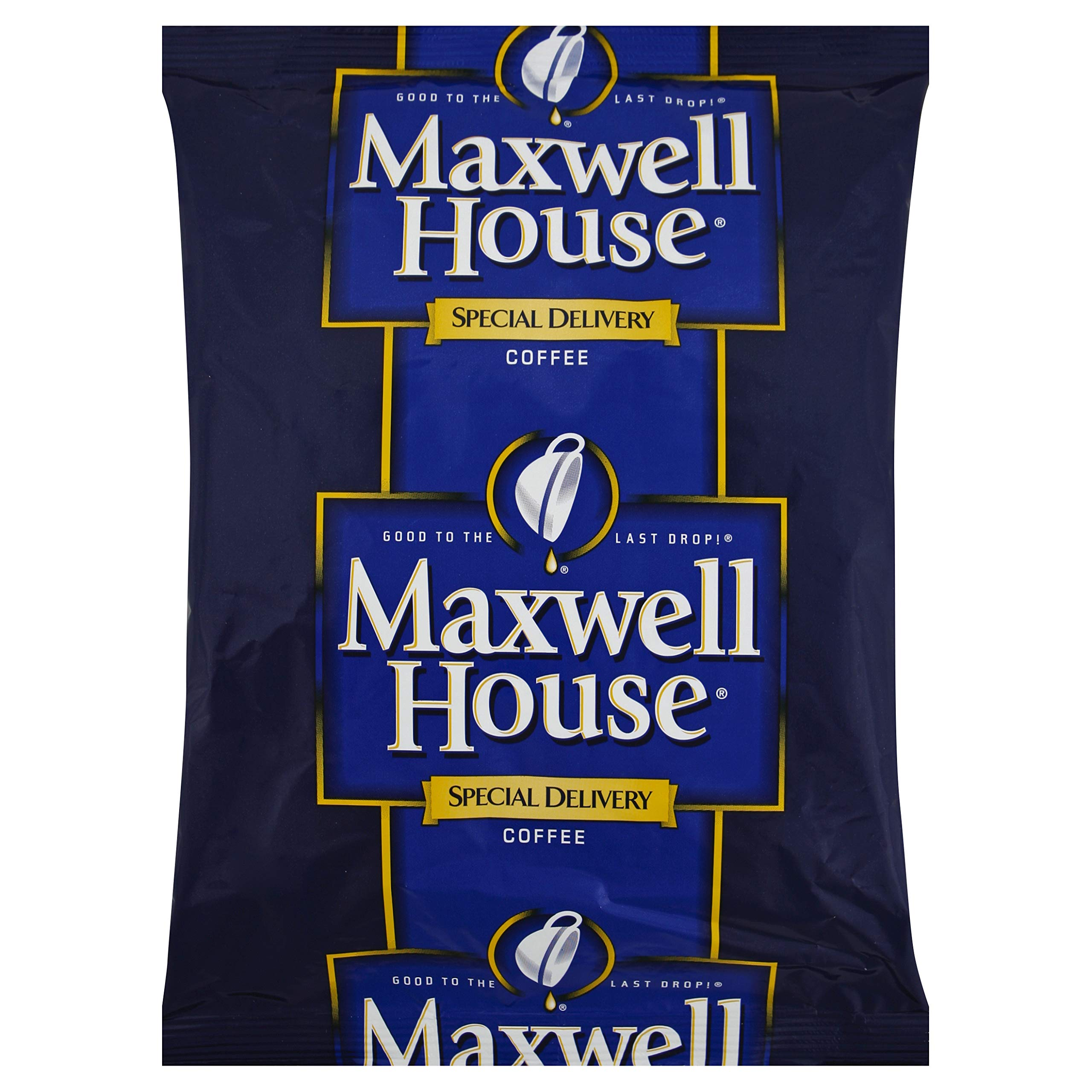 Maxwell House - Coffee Regular Ground 1 1/5Oz Special Delivery Filter Pack 42/Carton ''Product Category: Breakroom And Janitorial/Beverages & Snack Foods''