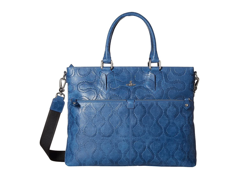 [ヴィヴィアン ウエストウッド] Vivienne Westwood メンズ Belfast Briefcase ブリーフケース [並行輸入品]  ブルー B01MSPGK8W