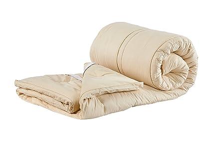 Amazon.com  Sleep   Beyond 60 by 80-Inch Organic Merino Wool ... 959d396dd9