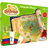 Gotrovo Language Game for Kids - Fun Indoor Outdoor Treasure Hunt Game and Scavenger Hunt. Play in 5 European Languages - Spanish, French, German, Italian or English