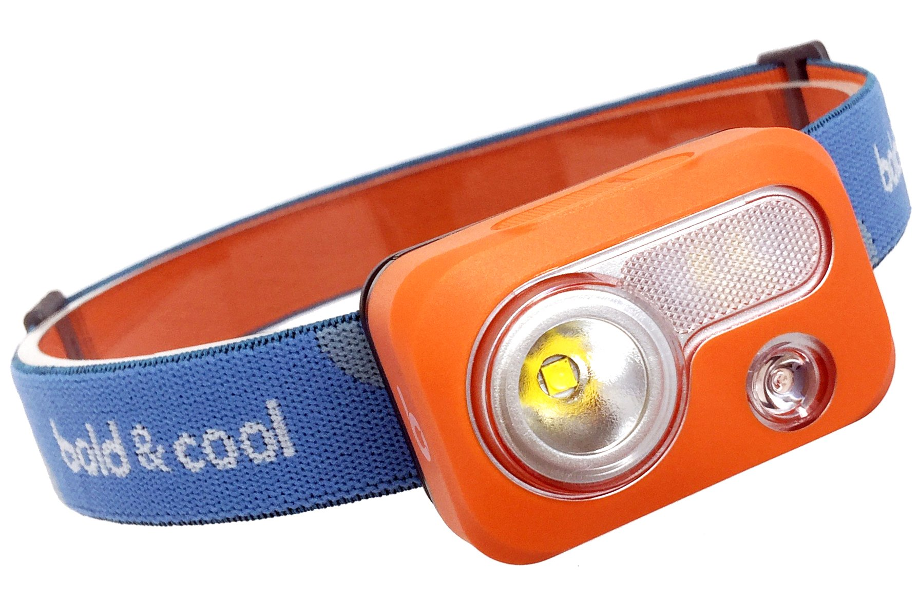 Nova Lux Storm LED Headlamp with 6 light modes, IPX7 Waterproof, Bright 215 Lumen CREE LED, RED Strobe SOS, Lightweight, for backpacking, camping, trekking, hiking, running at dusk, even reading, etc