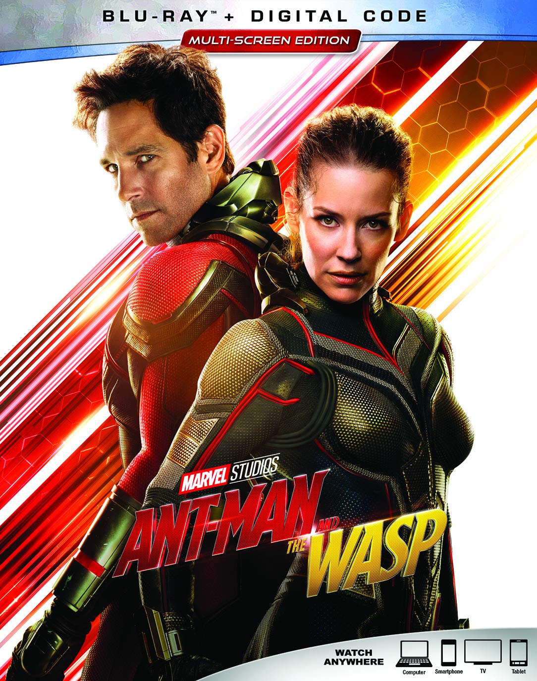 Ant-Man and the Wasp [Blu-ray] Paul Rudd Evangeline Lilly Michael Peña Walton Goggins
