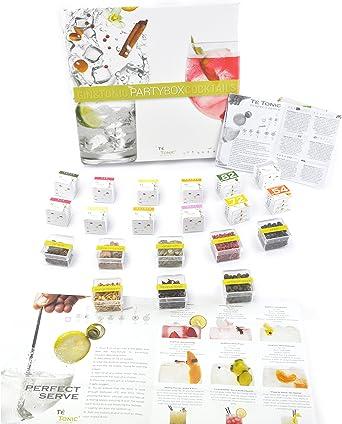 Botanicos Especias Gin Tonic regalo box kit naturales - Estuche de 24 infusiones y 8 botánicos party box gift kit. Para aromatizar tu Gin Tonic cóctel Regalo perfecto: Amazon.es: Alimentación y bebidas
