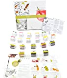 Te Tonic experience Gin Partybox garnish set Botanicals Infusions - for Flavoring Your Gin Cocktail with Spices, Flowers and Herbs. Amazing Gin Gift Box