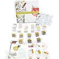 Botanicos Especias Gin Tonic regalo box kit naturales - Estuche de 24 infusiones y 8 botánicos party box gift kit. Para…