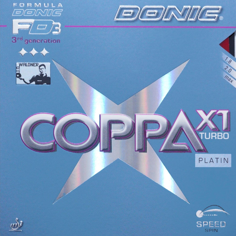 Donic Coppa X1platino Max Negro