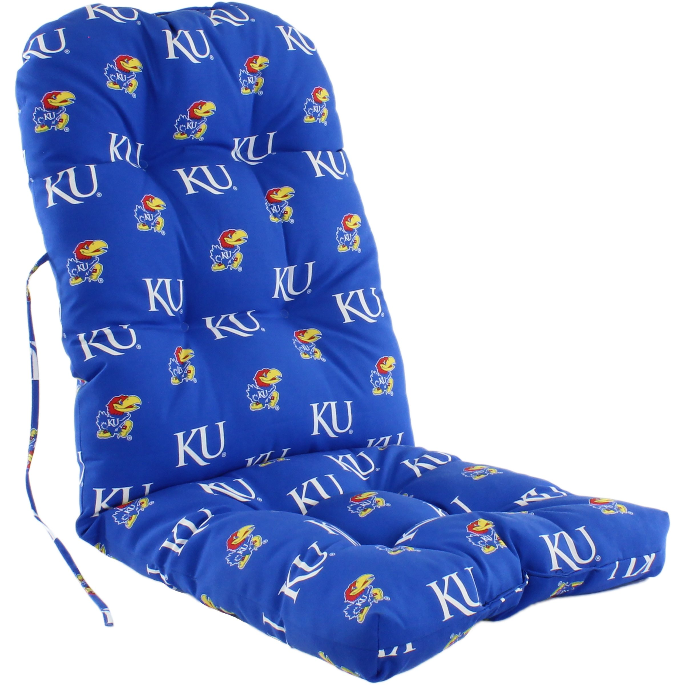 College Covers Kansas Jayhawks Adirondack Chair Cushion, Blue