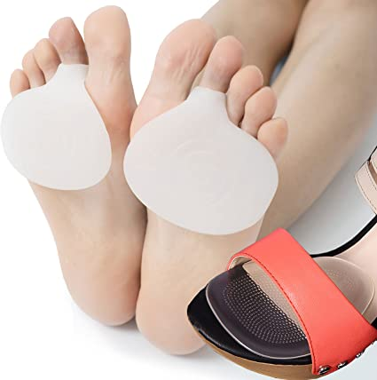 Foam Metatarsal Sleeves Insoles Foot Pads Relieve Forefoot Pain Toe care