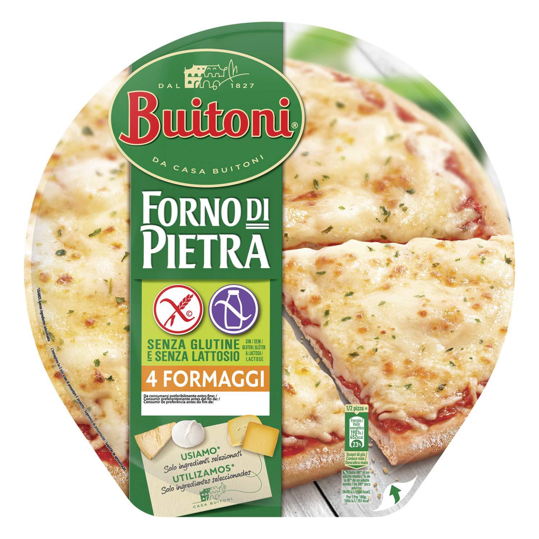 Buitoni Forno di Pietra 4 ForMaggi - Pizza de queso ...
