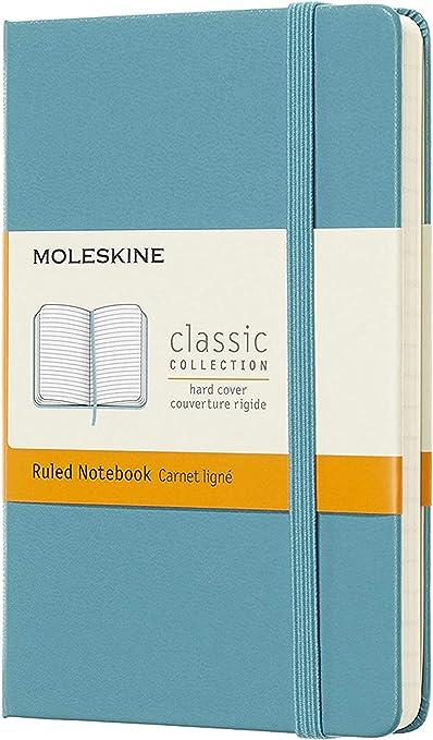 Large 13 x 21 cm Marrone Terra 240 Pagine Moleskine Notebook Classic Pagina Bianca Taccuino Copertina Rigida e Chiusura ad Elastico