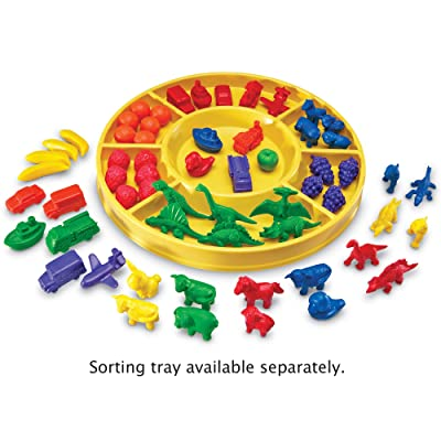 Learning Resources Beginning Sorting Set, Counting & Sorting Skills, 168 Piece Set, Ages 3+: Office Products