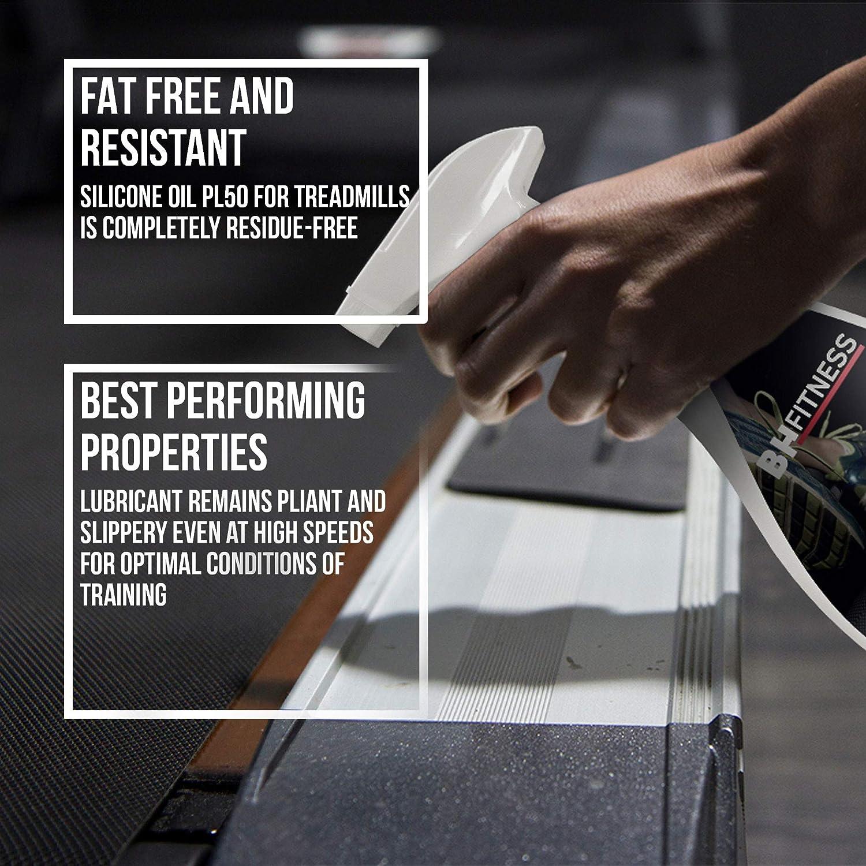 BH Fitness – Pulverizador de lubricante para Cintas de Correr 0190920 – 100% sostenible