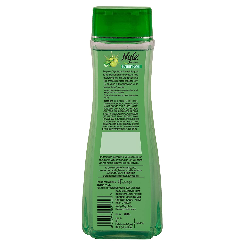 Nyle Dryness Hydration Shampoo, 400ml