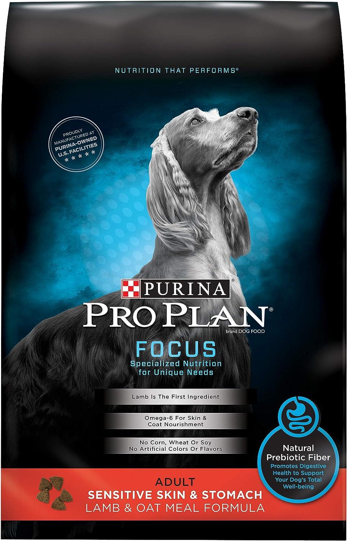 Purina Pro Plan Focus Sensitive Skin & Stomach Lamb & Oat Adult Dry Dog Food