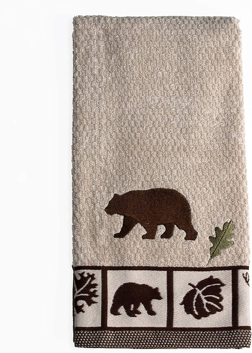 SKL Home by Saturday Knight Ltd. Natures Trail Hand Towel, Amber